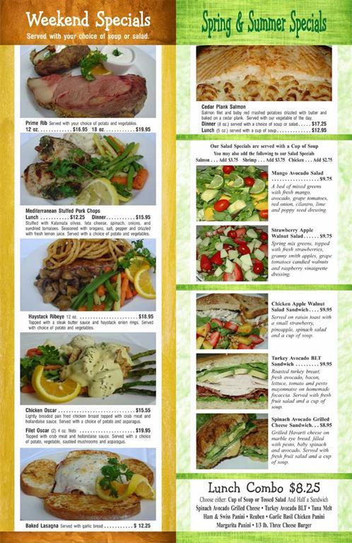 Oconomowoc Restaurants - Maxim's At The Oconomowoc Depot